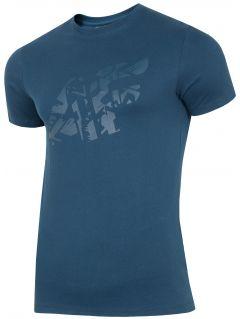 T-shirt męski TSM004 - granat