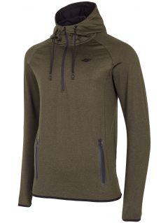 Bluza męska BLM005 - khaki melanż