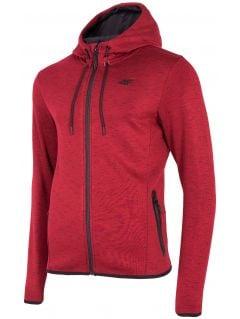 Bluza męska BLM007 - czerwony melanż