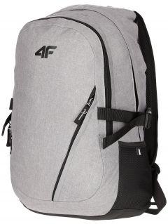 Plecak miejski PCU006 - chłodny jasny szary melanż