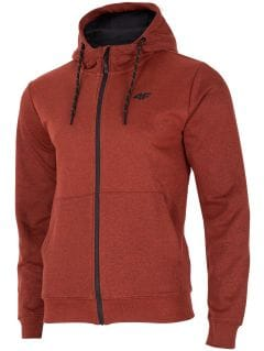 Bluza męska BLM002 - czerwony melanż