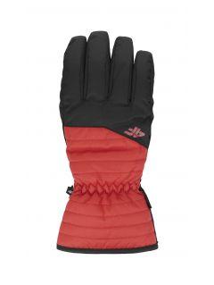 Rękawice narciarskie męskie REM001 - czerwony