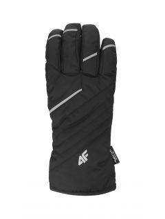 Rękawice narciarskie męskie REM003 - czarny