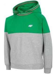 Bluza dziewczęca (122-164) JBLD200 - zielony