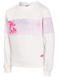3885de2ac1bf Bluza dziewczęca (122-164) JBLD211 - biały