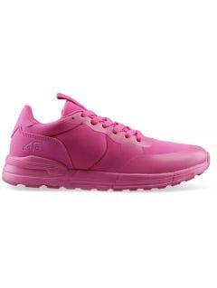 Buty sportowe dziewczęce (31-38) JOBDS200 - fuksja