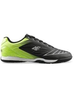 Buty piłkarskie chłopięce (31-38) JOBMP400H - czarny