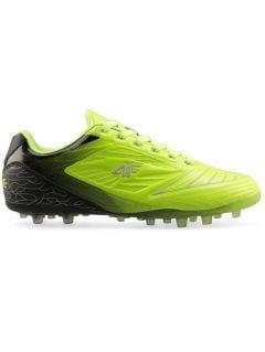 Buty piłkarskie chłopięce (31-38) JOBMP400L - soczysta zieleń