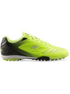 Buty piłkarskie chłopięce (31-38) JOBMP400T - soczysta zieleń