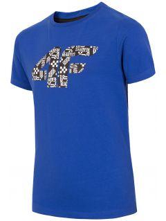 T-shirt chłopięcy (122-164) JTSM203A - kobalt