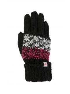 Rękawiczki dla dużych dzieci (dziewcząt) JREDD201 - multikolor