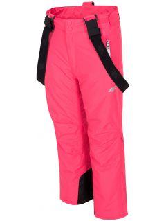 Spodnie narciarskie dla dużych dzieci (dziewcząt) JSPDN401 - fuksja