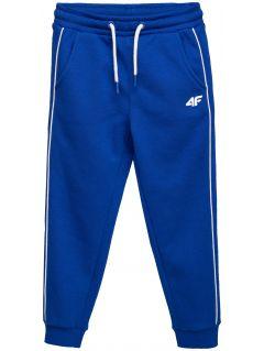 Spodnie dresowe dla małych dzieci (chłopców)  JSPMD105 - kobalt
