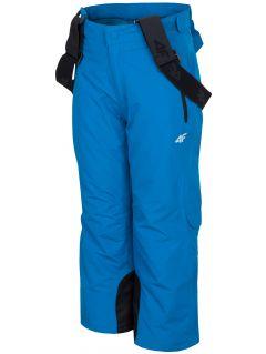 Spodnie narciarskie dla małych dzieci (chłopców) JSPMN300 - kobalt