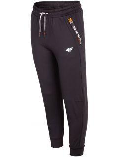 Spodnie sportowe dla dużych dzieci JSPMTR404 - czarny