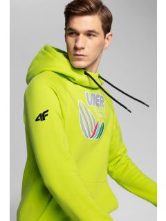 Bluza męska 4Hills BLM101 - soczysta zieleń