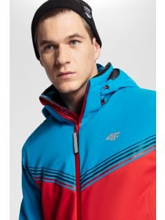 Kurtka narciarska męska 4Hills KUMN100 - czerwony