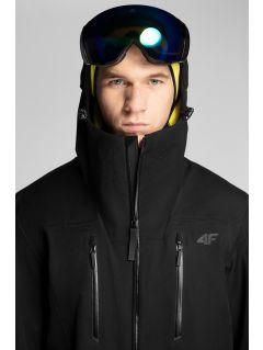 Kurtka narciarska męska 4Hills KUMN101 - głęboka czerń