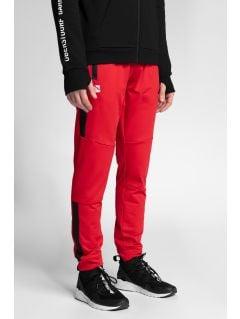Spodnie funkcyjne męskie 4Hills SPMTR200 - czerwony