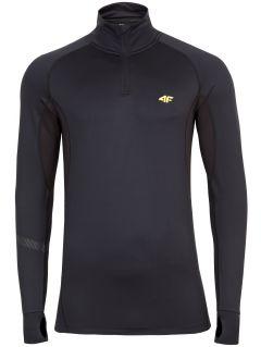 Bluza funkcyjna męska 4FPro Skirunning BLMF401 - czarny