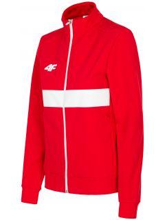 Bluza defiladowa damska Polska Pyeongchang 2018 BLD204 - czerwony wiśniowy
