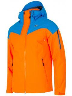 Kurtka narciarska HQ Performance KUMN152A - pomarańcz neon