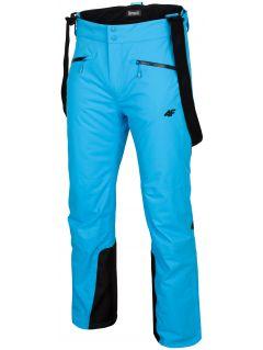 Spodnie narciarskie męskie SPMN151 - turkus
