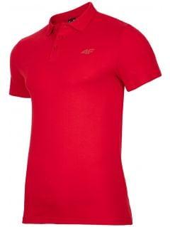 Koszulka polo męska TSM301 - czerwony