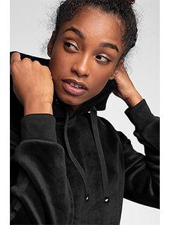 Bluza damska BLD228 - głęboka czerń