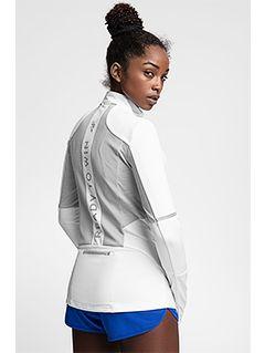 Bluza treningowa damska BLDF102 - biały