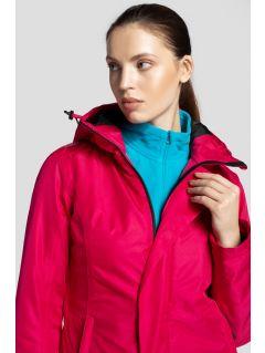 Kurtka narciarska damska KUDN253 - różowy