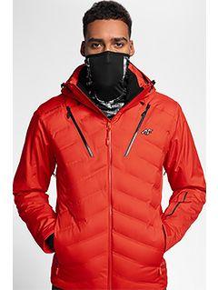 Kurtka narciarska HQ Performance KUMN150 - czerwony