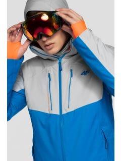 Kurtka narciarska męska KUMN258 - kobalt