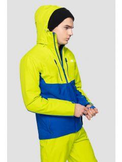 Kurtka narciarska męska KUMN258 - soczysta zieleń