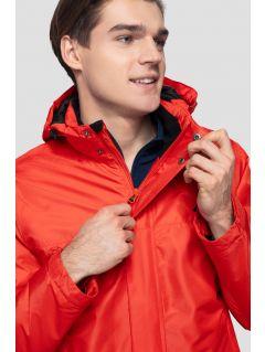 Kurtka narciarska męska KUMN351R - czerwony