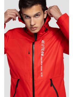 Kurtka narciarska męska KUMN552A - czerwony
