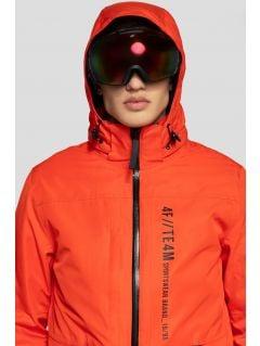 Kurtka narciarska męska KUMN552R - pomarańcz