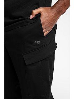 Spodnie sportstyle męskie SPMC201 - głęboka czerń