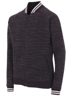 Bluza dla dużych chłopców JBLM201 - czarny melanż