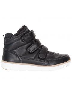 Buty jesienne dla małych chłopców JOBMW102 - czarny