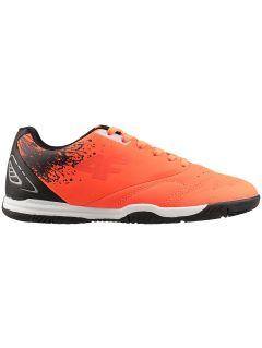 Halowe buty piłkarskie dla dużych dzieci (chłopców) JOBMP400H - pomarańcz neon