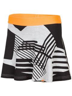 cf1d0bb6f7 Spódniczka dresowa dla dużych dzieci (dziewcząt) JSPUD203 - szary melanż