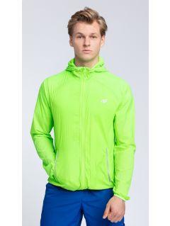Kurtka treningowa męska KUMTR001 - zielony neon