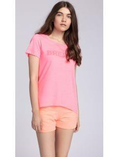 T-shirt damski TSD454 - różowy