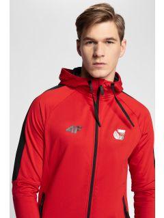 Bluza funkcyjna męska 4Hills BLMF200 - czerwony