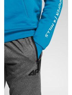 Spodnie funkcyjne męskie 4Hills SPMTR200A - średni szary melanż