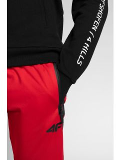 Spodnie funkcyjne męskie 4Hills SPMTR200A - czerwony
