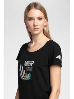 Koszulka damska 4Hills TSD101 - głęboka czerń