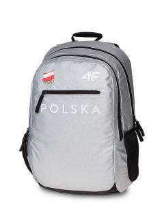 Plecak miejski Polska Pyeongchang 2018 PCU900R - srebrny