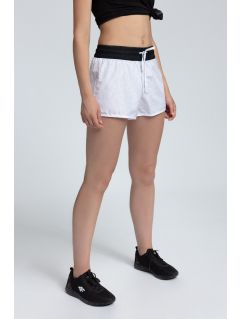 Spodenki plażowe damskie SKDT203 - biały